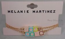 New Melanie Martinez Cry Baby 3D Blocks Bracelet Set