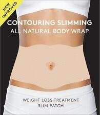 Contouring Slimming All Natural Body Wrap, it Works to Firm, Tighten  10 Wraps