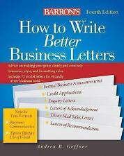 How to Write Better Business Letters (Barron's How to Write Better Bus-ExLibrary