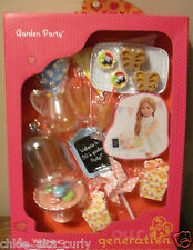 "American Our Generation Garden Party Kitchen RV Food 18"" Girl Doll set"
