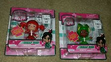 Disney Wreck It Ralph 2 Sugar Rush Racers Jubileena and Minty Zaki MOC LOT