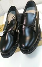 US NAVY WOMEN'S CAPPS BLACK LEATHER OXFORD DRESS SHOES 90100/80 SIZE 6 M NEW