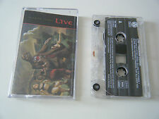 LIVE THROWING COPPER CASSETTE TAPE RADIOACTIVE 1994
