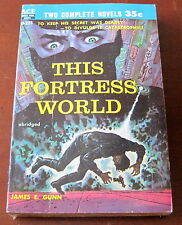Ace Double D-223 This Fortress World / 13th Immortal - James Gunn
