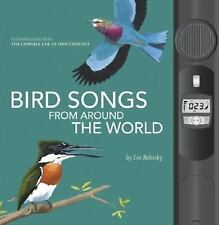 Bird Songs From Around the World book Cornell Lab of Ornithology Science AUDIO