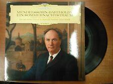 33 RPM Vinyl Mendelssohn Bartholdy Ein Sommernachtstraum DG Rec  Stereo 021915SM