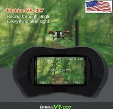 Eachine VR-007 FPV Video Goggles 5.8Ghz w/Batteries and Receiver USA SELLER!