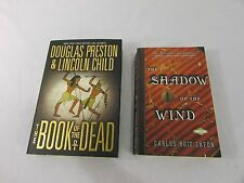 Lot of 2 Books: The Book of the Dead, The Shadow of the Wind