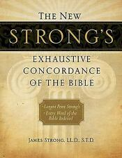 The New Strong's Exhaustive Concordance of the Bible by James Strong (2010,...