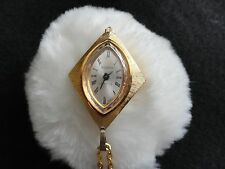 Vintage Sidros La Petite  Wind Up Necklace Pendant Watch with chain