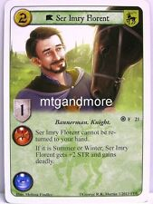 A Game of Thrones LCG - 1x Ser Imry Florent  #021 - Fire and Ice