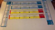 AS 6 cotés de caisses de métro NORD SUD