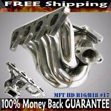 SS Turbo Manifold fits 88-00 HONDA Civic CRX Integra B-Series Engine B16 B18