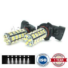 2X BIANCO 6000K HB3 60 LED SMD ABBAGLIANTE PRINCIPALE LAMPADINE PER