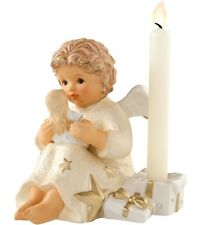 Hummel Angel with Doll Candle Holder NIB #828126 Champagne NEW IN BOX