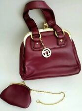 NECESSARY OBJECTS by Ady Glucke Frankel Women's 2 Faced Handbag w/ coin purse