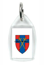 HEADQUARTERS BRITISH FORCES GERMANY KEY RING (ACRYLIC)