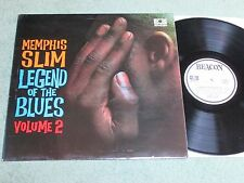 MEMPHIS SLIM legend of the blues Volume 2 BEACON RECORDS LP laminated sleeve Ste