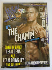 WWE KIDS MAGAZINE FEBRUARY 2012 ISSUE 50 & GIFT JOHN CENA THE ROCK WRESTLING NEW