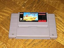 Road Runner Death Valley Rally Super Nintendo Snes Cleaned & Tested