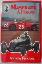 MASERATI A HISTORY ANTHONY PRITCHARD CAR BOOK