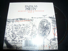 Papa Vs Pretty Memiors From A Bedroom Issue 1 Rare 7 Track CD EP - New