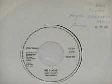 "JAKE HOLMES -So Close- 7"" 45 Polydor Promo Archiv mint"