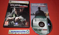 TOM CLANCY'S SPLINTER CELL CONVICTION PACK DE PRECOMMANDE XBOX 360 MICROSOFT PAL