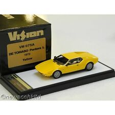 De Tomaso Pantera L 1974  Yellow MAKE UP MODEL 1/43 #VM075A