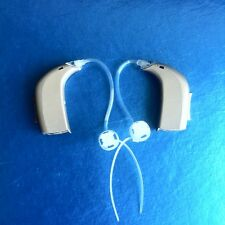 2 - Oticon Spirit Zest BTE Digital Hearing Aids with New Thin Tubes and Domes