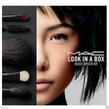 Brand new MAC Look in a Box 5pc Advanced Brush Make Up Cosmetic Set FREE case:})