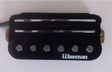 Warman Black G-rail triple coil pickup, simplied 4 wire output version