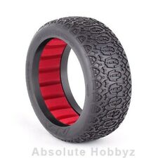 AKA Racing Chain Link 1/8 Buggy Tires (Red Inserts) (Soft) (2) - AKA14017SR