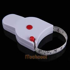 Mini Retractable Ruler Tape Measure Sewing Cloth Dieting Tailor 60Inch 1.5M NEW