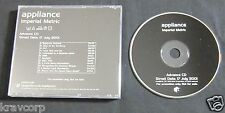 APPLIANCE 'IMPERIAL METRIC' 2001 ADVANCE CD