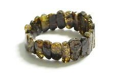 Green Baltic Amber bracelet Sold by manufacturer.  TA-1473