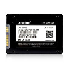 """Zheino A1 60GB SSD 514MB/S 2.5"""" SATA3 SSD For Lenovo Dell HP ASUS Acer Laptop"""