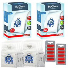 MIELE Vacuum Hoover Bags GN S400i S600 S800 S2000 S5000 S8000 Hyclean Genuine x8