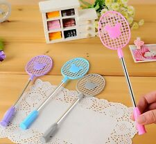4pcs badminton racket Cute Fun Ball Point Pens Korean stationery novelty mickey