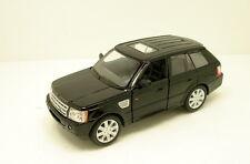 "Kinsmart Range Rover Sport Land Rover SUV 1:38 scale 5"" diecast model Black K72"