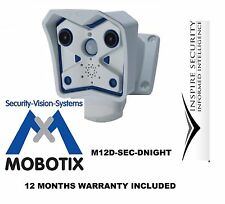 Mobotix M12D-SEC - dnight 3MP Cámara de red IP de interior/exterior