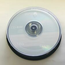 10-PK Philips Logo 12X CD-RW CDRW ReWritable Blank Disc Storage Media Cake Box