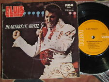 ELVIS PRESLEY Heartbreak Hotel ~ 1975 Australian Picture Sleeve 45 EP