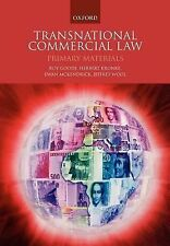 Transnational Commercial Law : Primary Materials by Jeffrey Wool, Royston...