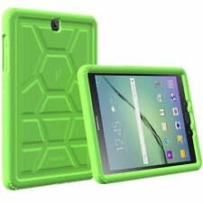 Poetic TurtleSkin Corner/Bumper Grip Case for Samsung Galaxy Tab S2 9.7 Green