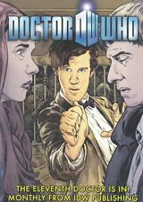 2011 IDW PUBLISHING Doctor Who SDCC Comic Con Promo Card