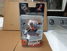 ROBYN REGEHR CALGARY FLAMES MCFARLANE  NHL24 PREMIER WHITE JERSEY WITH auto 200p