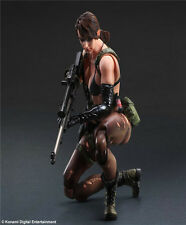 GECCO Metal Gear Solid 5 V The Phantom Pain Play Arts Kai Quiet Action Figure