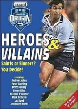 Heroes & Villains of NSW State of Origin - NRL DVD By Laurie Daley