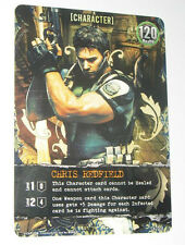 Resident evil Deck Building Game DBG Promotional promo Card Chris Redfield